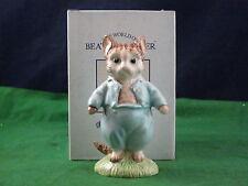 Royal Albert Beatrix Potter Tom Kitten Figurine Larage With Free Box RD3438
