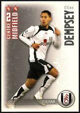 Clint Dempsey Fulham Shoot Out 2006-7 Magic Box Football Trade Card (C1300)