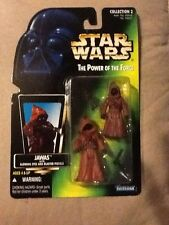 Star Wars The Power Of The Force Jawas With Glowing Eyes And Pistols