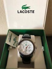 NEW Lacoste Women's Black Leather Watch 2000378