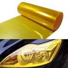 "Tailight Fog light Tint Film Vinyl Universal 16 x 60"" Golden Yellow Headlight"