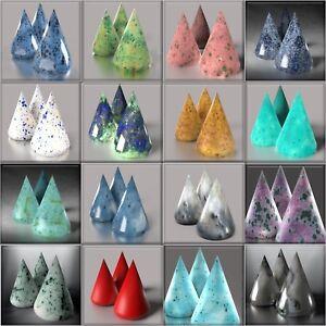 #UK *** LOT *** 1Lb (Pound) Effect Ceramic Glazes Earthenware Pottery Degussa
