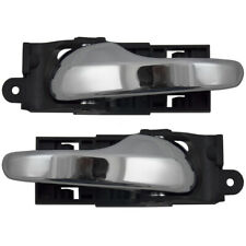 Pair Set Inside Front Door Handle Chrome for Ford F-150- & Heritage F-250 Pickup
