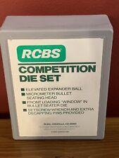 Rcbs Competition Die Set Group A 37201 .223 Rem Excellent Condition!