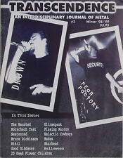 THE HAUNTED / ULTRASPANK / SKARHEAD Winter 1998 TRANSCENDENCE Magazine