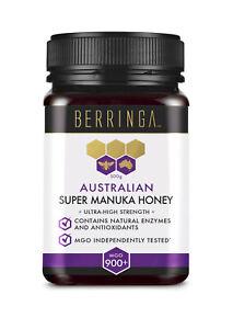 Berringa Super Manuka Honey, MGO 900+, Free shipping, 250gms or 500gms jar