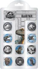 Jurassic World Pack of 10 erasers