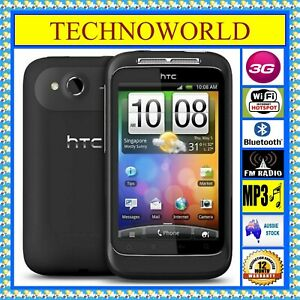 """UNLOCKED HTC WILDFIRE S A510B◉3G◉WIFI HOTSPOT◉3.2""""◉ANDROID◉512MB/512MB◉BLUETOOTH"""