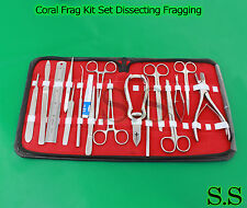 Coral Frag Kit Set Dissecting Fragging Propogation Reef Hard Soft ,S.S-601