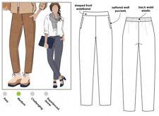 Style Arc Ladies Sewing Pattern Linda Pants MLPW022S-M