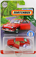 MATCHBOX RED VW 1600 TL 1965 TYPE 3 FASTBACK - OVP/MOC - MOVING PARTS - USA