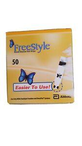 100 Freestyle Lite Blood Glucose Test Strips unopened unused unexpired 2×50