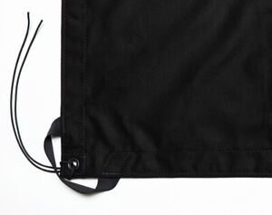 CANVAS GRIP 12' X 12' Black Solid - Overhead