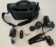 CANON EOS 1100D digital SLR camera with accessories