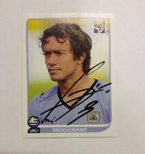 Panini Sticker WM 2010 signiert Diego Lugano Uruguay NEU