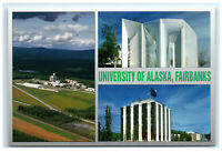 Postcard University of Alaska in Fairbanks, Alaska AK ACE945