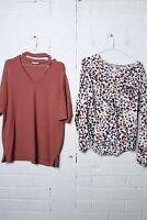 Papaya Womens Workwear Tunic Top Bundle - Size 16 - (L-K8)