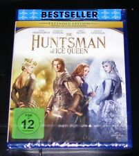 THE HUNTSMAN & THE ICE QUEEN EXTENDED EDITION BLU RAY SCHNELLER VERSAND NEU &OVP