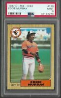 1987 O-Pee-Chee Eddie Murray Baltimore Orioles #120 PSA 9 MINT