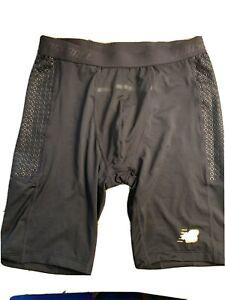 Men's New Balance Sz LARG 4040 Baseball Slider Shorts with Cup HOLDER