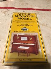 DOLLHOUSE MINIATURES PIANO KLAVIER FAST SHIPPING