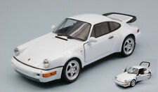 Porsche 911 (964) Turbo White 1:24 Model 24023WE WELLY