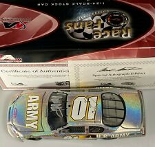 Autographed 2007 Mark Martin #01 Army Monte Carlo SS Mesma Chrome 1:24
