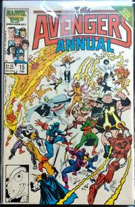 Avengers Annual #15; Grading: VF/VF+