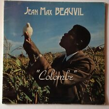 DISQUE 33T JEAN MAX BEAUVIL COLOMBE // DEDICACE
