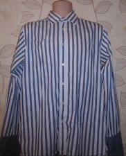 Ted Baker London Striped Formal Shirt- Size-4 / Collar-15