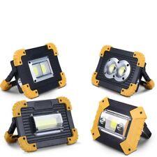 100W Led Portable Spotlight Work Light USB Rechargeable Flashlights Camping