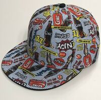 "Coca-Cola, 2000's Pop Art ""Can/Bottle"" Hat, with All-Over Graphic Print, NEW"