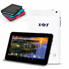 XGODY Android Tablet PC White 9'' Quad Core Dual Camera HD Screen Bundle WIFI US
