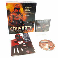 Crusader No Remorse for PC CD-ROM by ORIGIN in Big Box, 1995, CIB, VGC