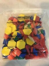 ETA Hand2mind #4414B Pattern Blocks Set 250 Package 1 CM Manipulatives