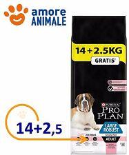 Purina Pro Plan Large Robust Adult Sensitive Skin Salmone 14 Kg + 2,5 kg