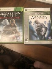 Xbox 360 Assassins Creed Revelations And Platinum Hits