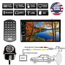 For Toyota Yaris 6.2inch Car Stereo Double Din DVD MP3 Player with Backup Camera