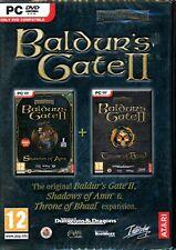 Baldur's Gate II Gold - Brand New in Sealed DVD Box - PC Forgotten Realms RPG