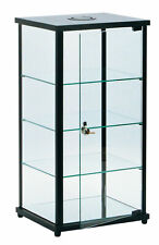 Lighted Glass Countertop Display Case 27h X 12d X 14l