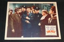 1951 Love Nest Lobby Card (C-6) Marilyn Monroe June Haver
