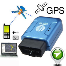 OBDII GPS GPRS Real Time Tracker Car Vehicle Truck Tracking System Geo-fence #A