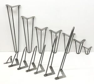 """Hairpin legs, industrial style table legs, size 8""""-36"""", high quality steel"""