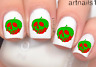 Disney Poison Apple Snow White Nail Goth Water Decal Sticker Mani Salon Polish