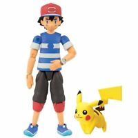 Tomy Pokemon Ash and Pikachu Action Figure
