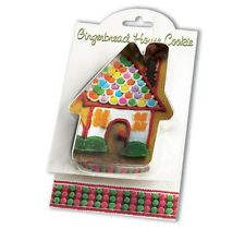 NEW Ann Clark Tin Gingerbread House Cookie Cutter w Recipe Attatched Made USA