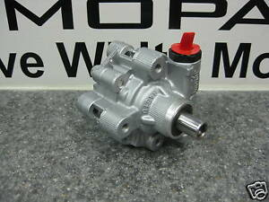 01-04 Dodge Caravan New Power Steering Pump Mopar Factory Oem