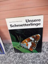 Unsere Schmetterlinge, von Eugen Pleisch / Albert Krebs, aus dem Polydruck Verla