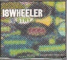 (P207) 18 Wheeler, Stay - 1997 DJ CD