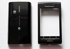 Black Housing Cover Facia Fascia Faceplate case for Sony Ericsson X8 Xperia